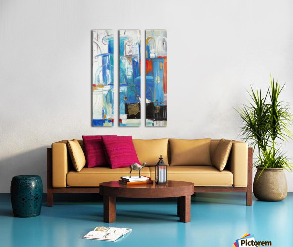From the series of: Cities of the World Split Canvas print