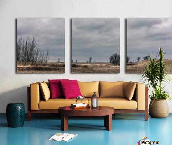 Cloudy sunday Split Canvas print