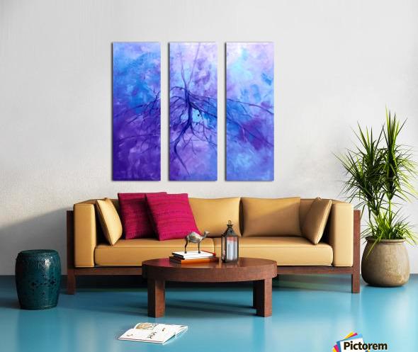 Hero4 Split Canvas print