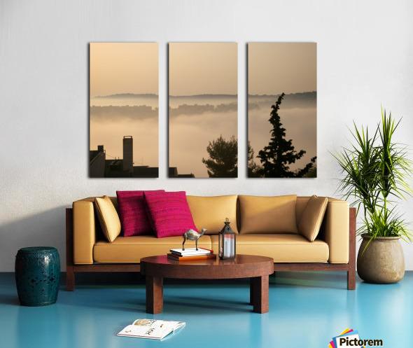 Fog Split Canvas print