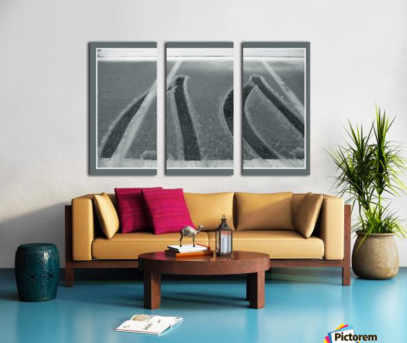 Winter pattern Split Canvas print