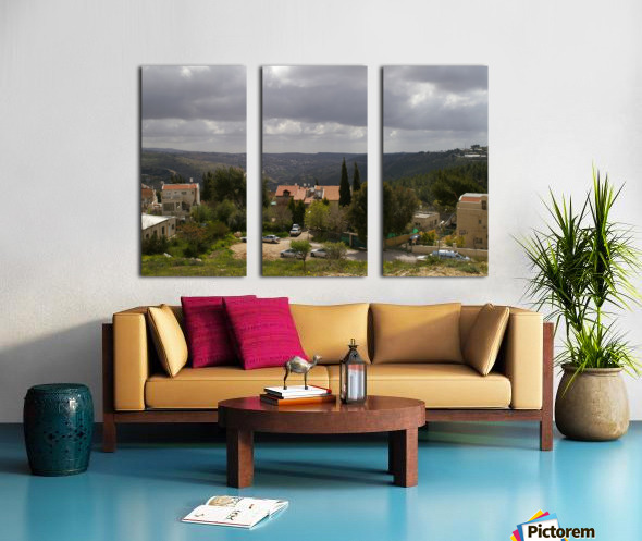 South Jerusalem Split Canvas print
