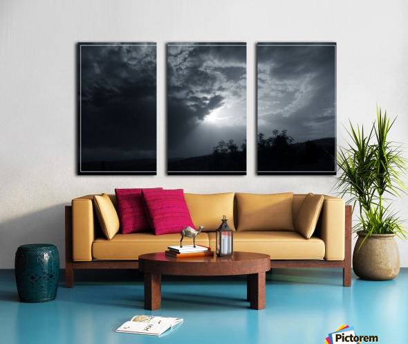 Shine 3 Split Canvas print