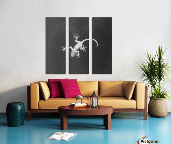 The night hunter Split Canvas print