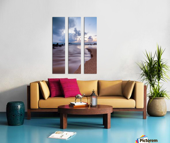Where the Heavens Meet the Sea Split Canvas print