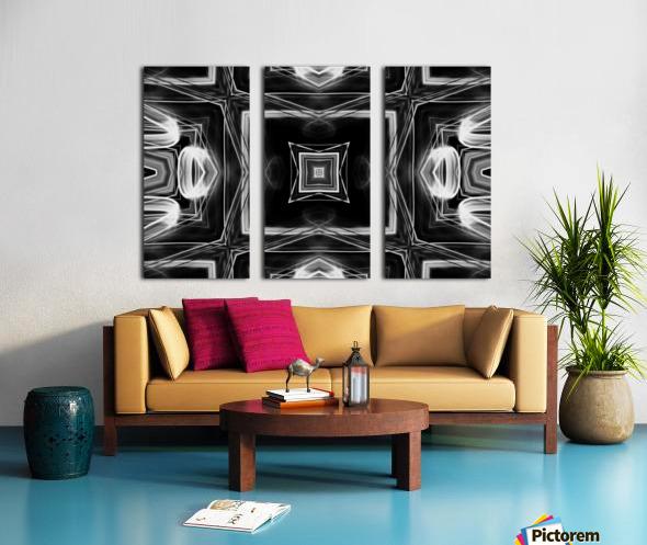 Digital art Split Canvas print