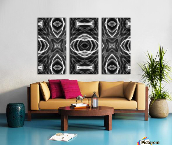 Monochrome Split Canvas print