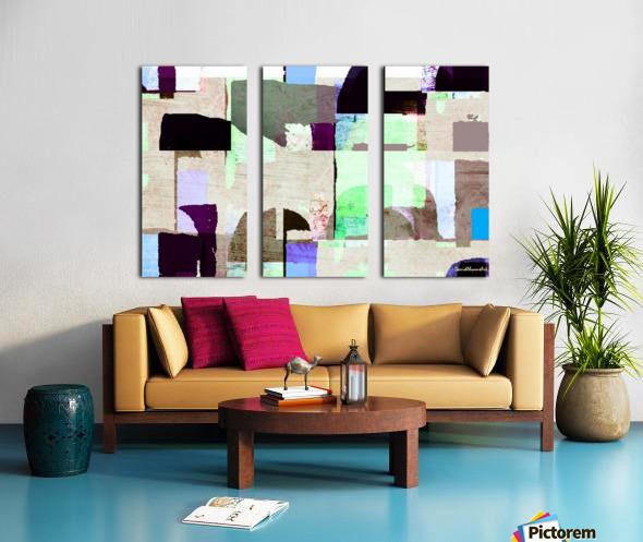 Hall Circle Split Canvas print