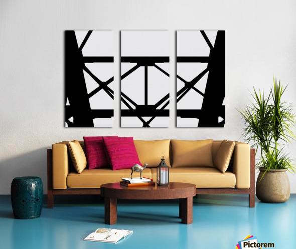 Bridge I Split Canvas print