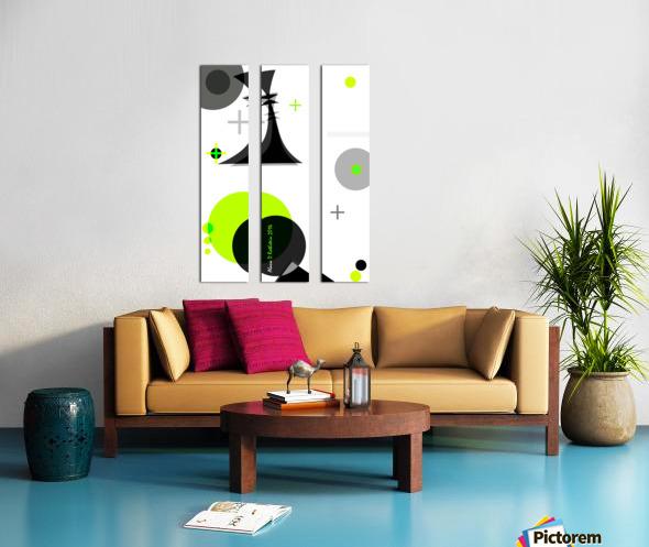 MATH 2 Split Canvas print