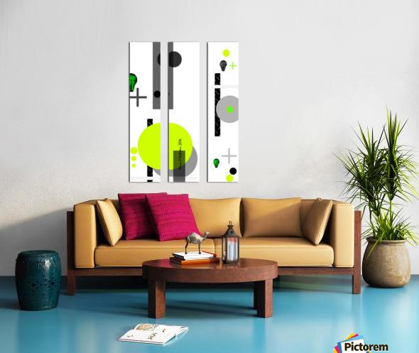 MATH 1 Split Canvas print