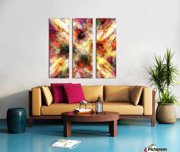 Back to the fires Split Canvas print