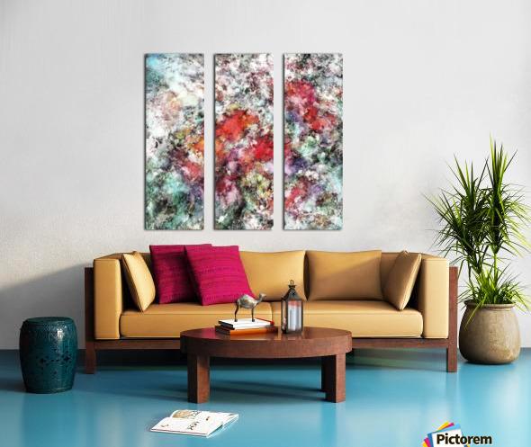 Base Split Canvas print