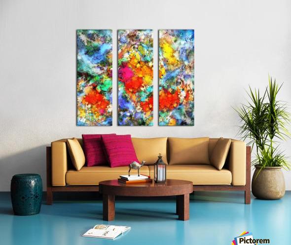 Beacon Split Canvas print