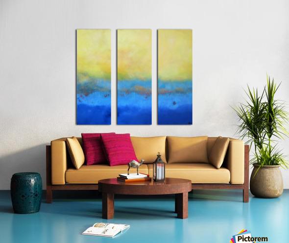 Realm of the Senses V Split Canvas print