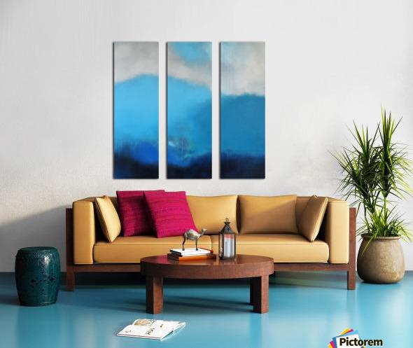 Moment of Clarity III Split Canvas print