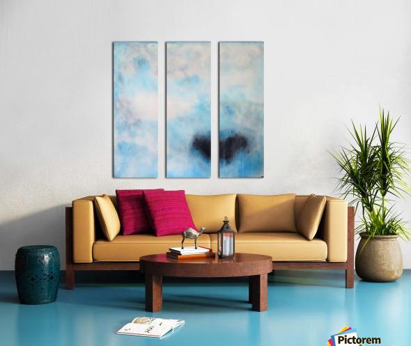 Naples Blue III Split Canvas print