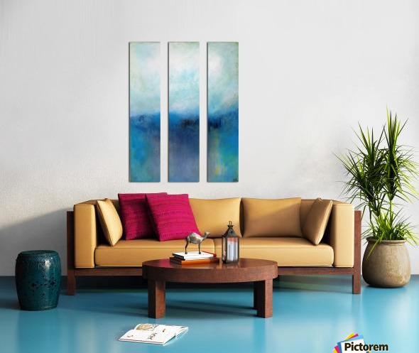 No Surrender Blue III Split Canvas print