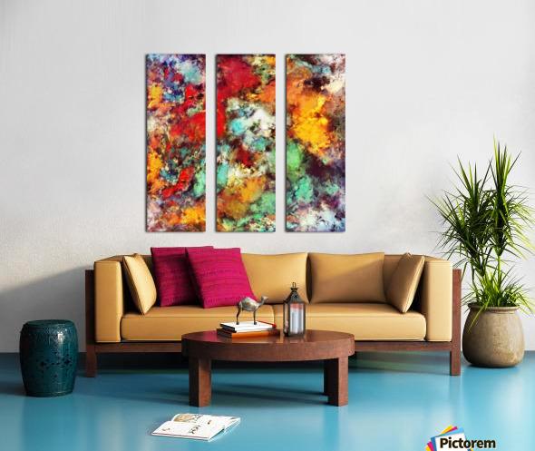 Breathe Split Canvas print