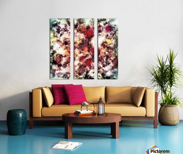 Compression Split Canvas print