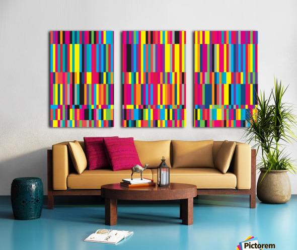Perception Split Canvas print