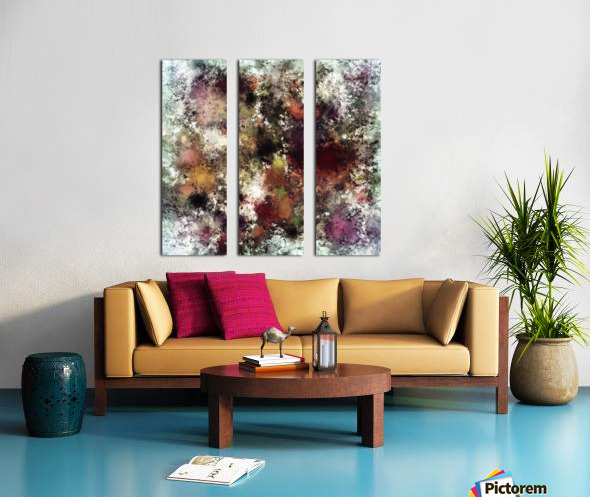 Escape from the elements Split Canvas print