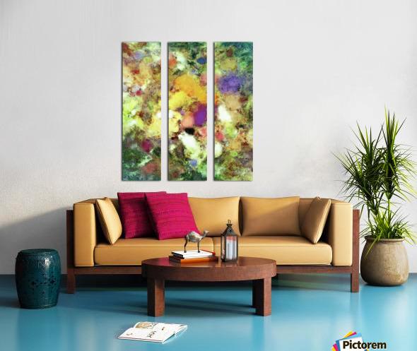 Forgotten petals Split Canvas print