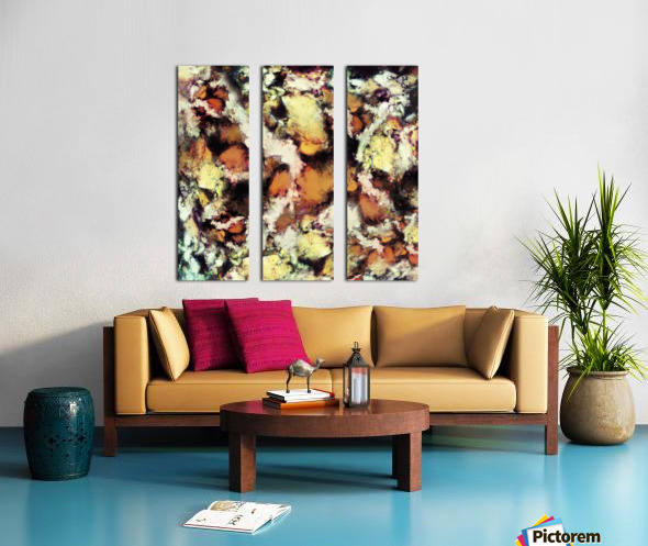 Fractured viewpoint Split Canvas print