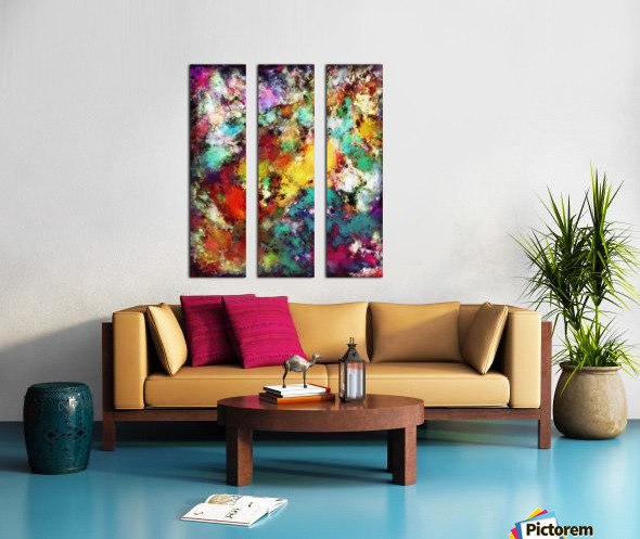Fuse Split Canvas print