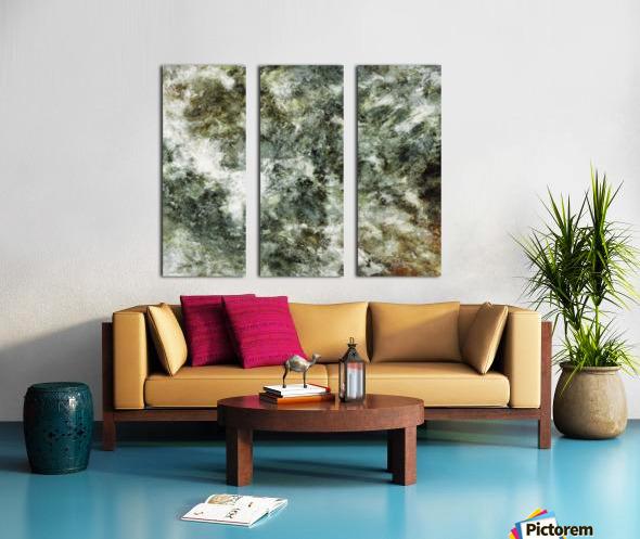 Hidden wolves Split Canvas print