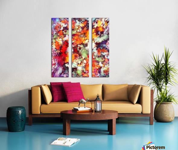 Illuminator Split Canvas print