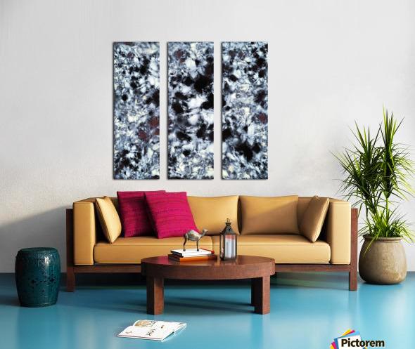 Impact Split Canvas print