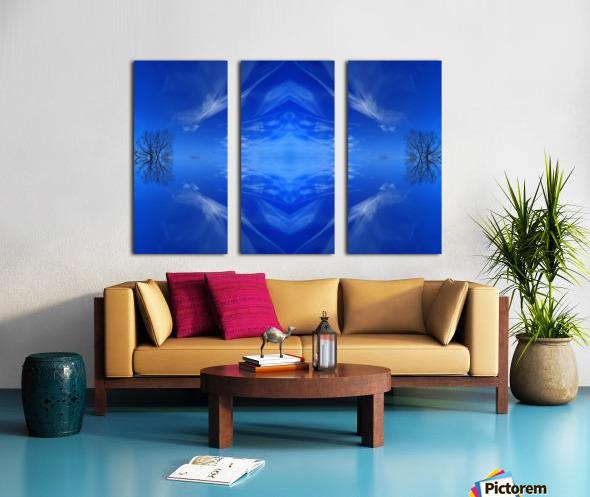 Cloudes 93 Split Canvas print