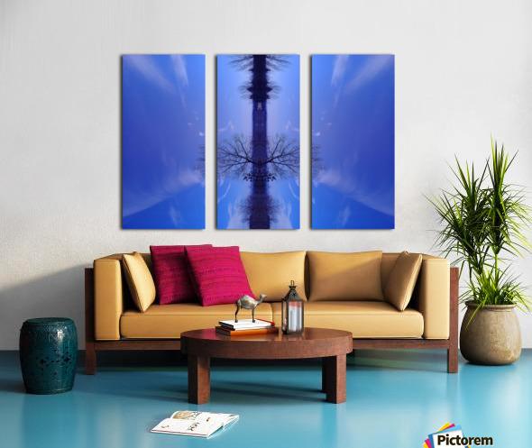 Cloudes 100 Split Canvas print