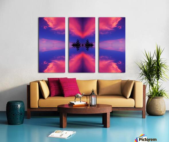 Cloudes 106 Split Canvas print