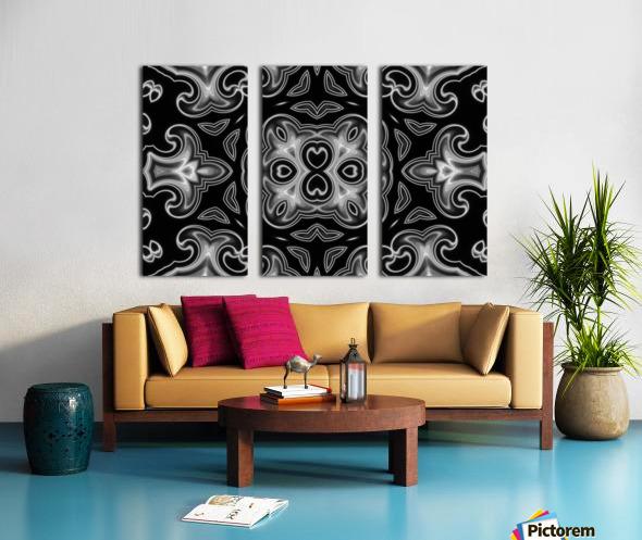 Fine art - Fractal Split Canvas print