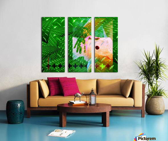 TUTU SMALL WORLD Split Canvas print