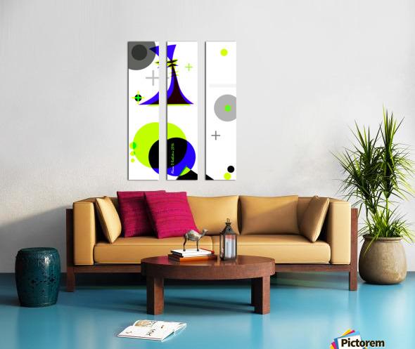 MATH 3 Split Canvas print