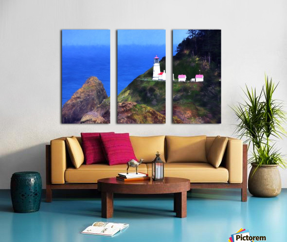 Lighthouse  Split Canvas print