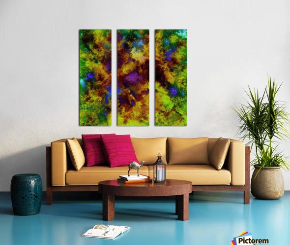 Background noise Split Canvas print