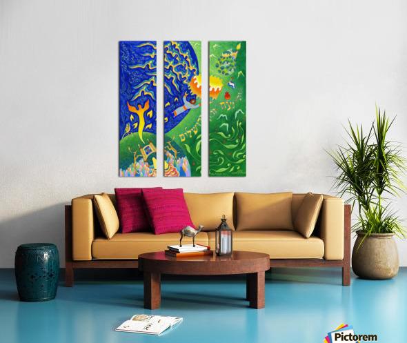 BNC2013-018 Split Canvas print
