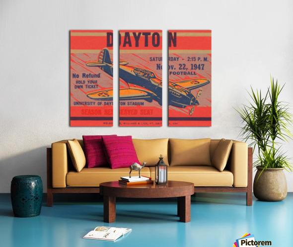 dayton ohio gift ideas Split Canvas print