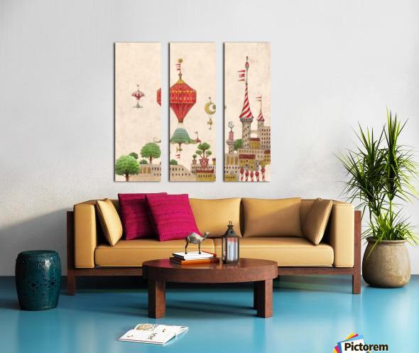Tartlellino Balloone Split Canvas print