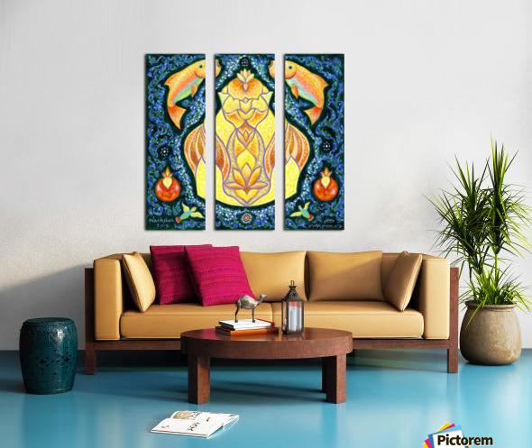 BNC2015-023 Split Canvas print