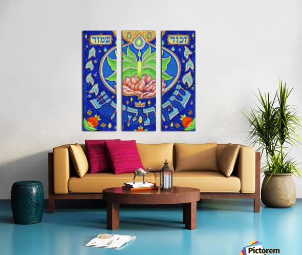BNC2015-039 Split Canvas print
