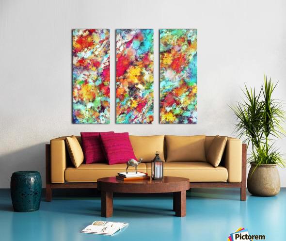 Jolt Split Canvas print