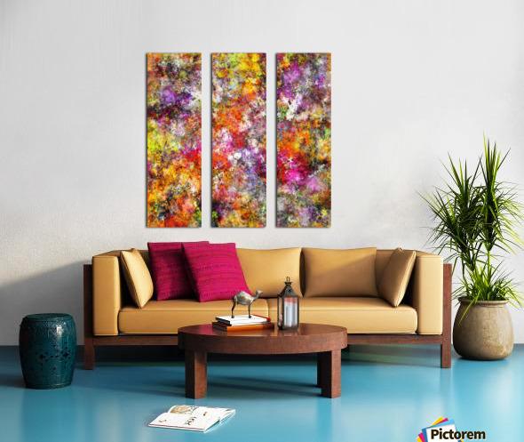 Jumble Split Canvas print