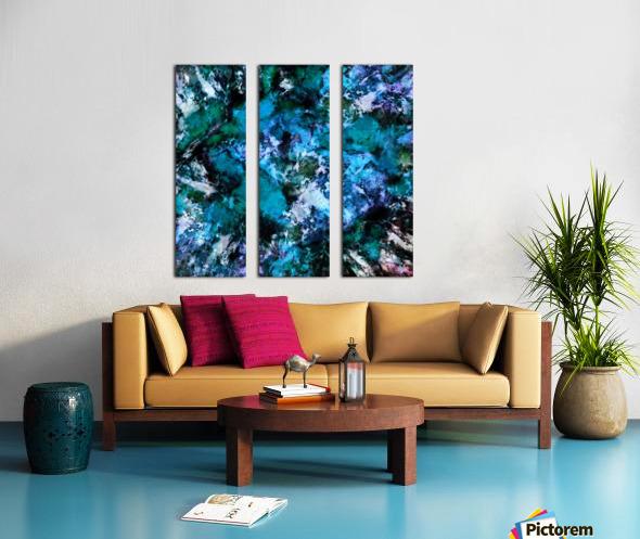 Impulse Split Canvas print