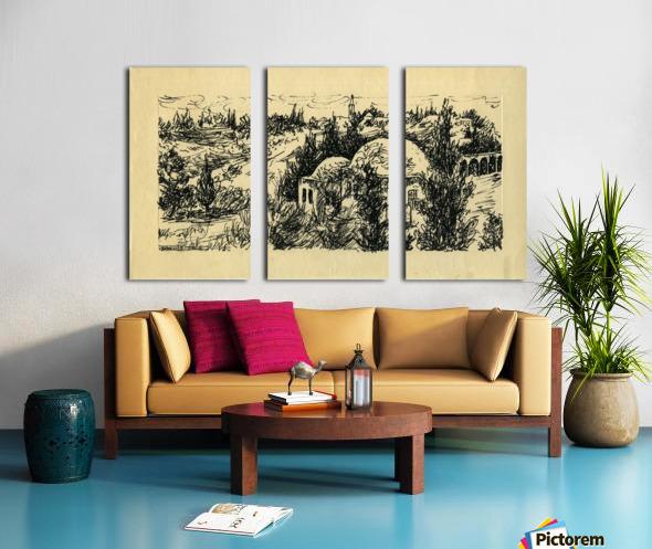 BNC1967-029 Split Canvas print