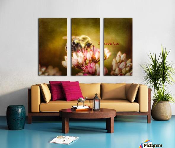 Save Us Split Canvas print